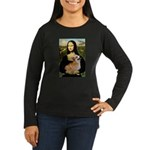 Mona's Pembroke Women's Long Sleeve Dark T-Shirt