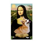 Mona's Pembroke Sticker (Rectangle)