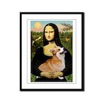Mona's Pembroke Framed Panel Print
