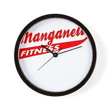 Manganelli Fitness Wall Clock