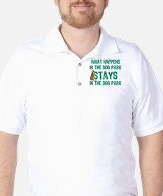 Stays In The Dog Park T-Shirt