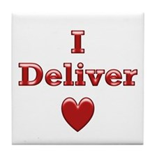 Deliver Love in This Tile Coaster