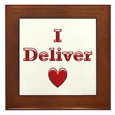 Deliver Love in This Framed Tile