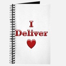 Deliver Love in This Journal