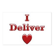 Deliver Love in This Postcards (Package of 8)