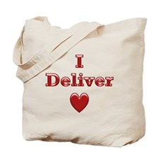Deliver Love in This Tote Bag