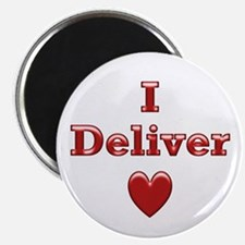 """Deliver Love in This 2.25"""" Magnet (10 pack)"""