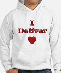 Deliver Love in This Hoodie