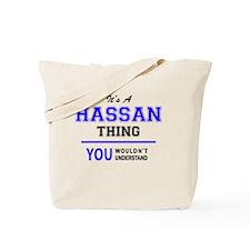 Funny Hassan Tote Bag