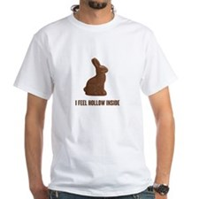 I Feel Hollow Inside Chocolate Easter Bunny T-Shir