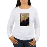 Mom's Welsh Corgi Women's Long Sleeve T-Shirt
