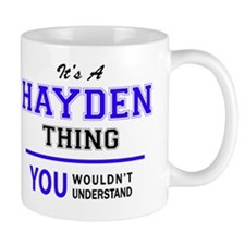 Cute Hayden Mug