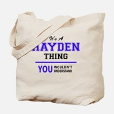 Cute Hayden Tote Bag