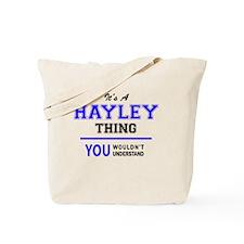 Cute Hayley Tote Bag