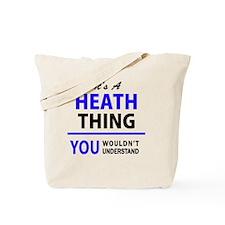 Funny Heath Tote Bag