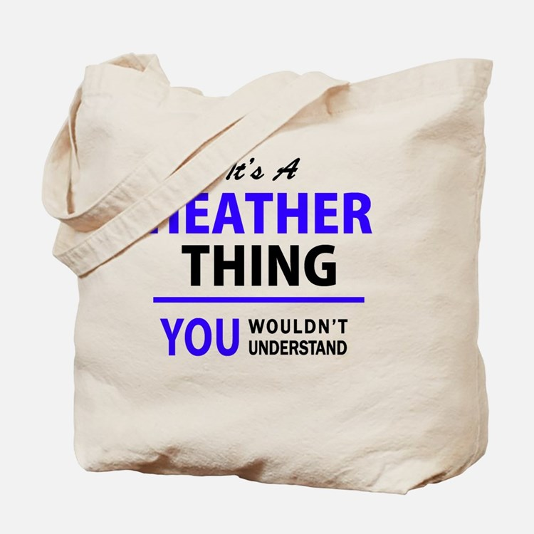 Cute Heather Tote Bag