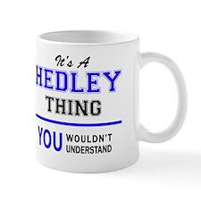 Cute Hedley Mug