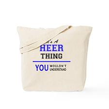 Unique Heer Tote Bag