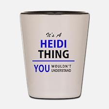 Cute Heidi Shot Glass