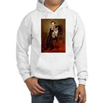 Lincoln's Corgi Hooded Sweatshirt