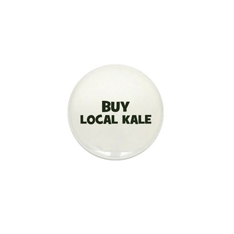 buy local kale Mini Button (10 pack)
