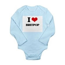 I Love BRITPOP Body Suit