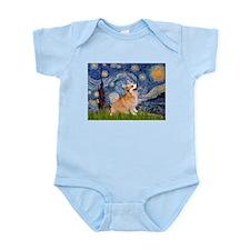 Starry Night Corgi Infant Bodysuit