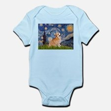 Starry Night Corgi Infant Bodysuit