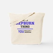 Cute Hepburn Tote Bag