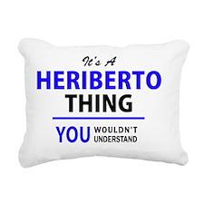 Unique Heriberto Rectangular Canvas Pillow