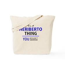 Cute Heriberto Tote Bag