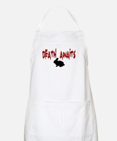 Death Awaits - Rabbit BBQ Apron