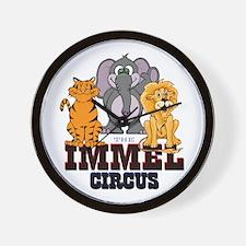 MassMu Immel Circus Wall Clock