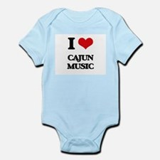 I Love CAJUN MUSIC Body Suit