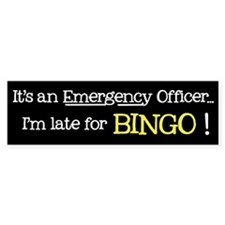 Bingo Emergency - Bumper Bumper Sticker