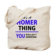Unique Homer Tote Bag
