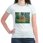 Bridge / Corgi Jr. Ringer T-Shirt