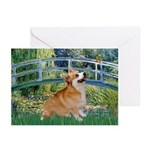 Bridge / Corgi Greeting Cards (Pk of 10)