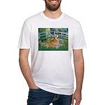 Bridge / Corgi Fitted T-Shirt