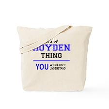 Cute Hoyden Tote Bag