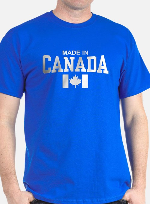 Made in canada t shirts shirts tees custom made in for Personalized t shirts canada