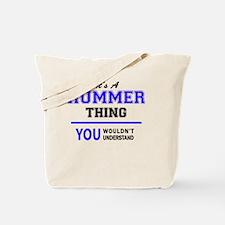 Unique Hummer Tote Bag