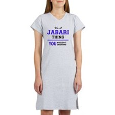 Cute Jabari Women's Nightshirt