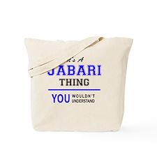 Unique Jabari Tote Bag