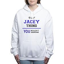 Cute Jacey Women's Hooded Sweatshirt