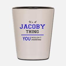 Unique Jacoby Shot Glass