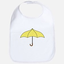 Yellow Umbrella Bib