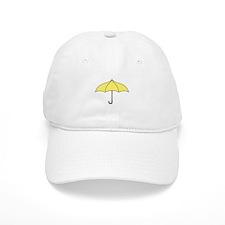 Yellow Umbrella Baseball Cap