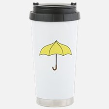 Yellow Umbrella Travel Mug
