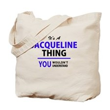 Cute Jacqueline Tote Bag